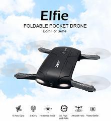 【送料無料】H37 Elfie ミニ ドローン Wifi カメラ付き 2.4GHz 4CH バッテリー2個付 スマホでリアルタイム生中継