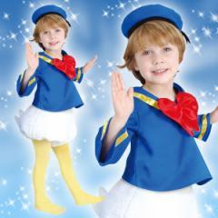 ディズニー コスチューム 子供 男の子 女の子用 Sサイズ ドナルド 仮装