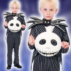 取寄品:3週間前後:ディズニー コスチューム 子供 男の子用 トドラーサイズ ジャック ナイトメア・ビフォア・クリスマス 仮装 在庫限り