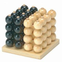 立体4目並べ W-250 木のおもちゃ 平和工業 [おもちゃ]