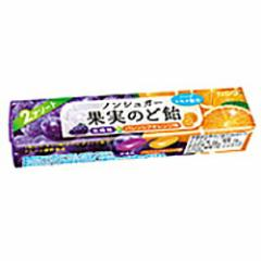 【送料無料】カンロノンシュガー果実のど飴スティックタイプ 10入
