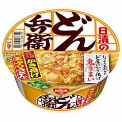 【送料無料】日清 97g日清のどん兵衛 かき揚げ天ぷらうどん 12食入