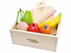 木のおもちゃ はじめてのおままごと フルーツセット [幼児玩具] (4526324513669)