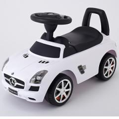 乗用玩具 メルセデスベンツSLS AMG ホワイト [乗用玩具] (4969755024418)