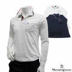 ◆【2014年春夏モデル】Munsingwear-マンシングウエア- MENS SG1243(メンズ) 長袖シャツ【トッ