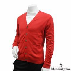 ◆【2014年春夏モデル】Munsingwear-マンシングウエア- MENS SG4018(メンズ) 長袖カーディガン