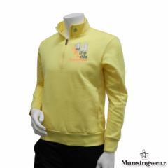 ◆【2014年春夏モデル】Munsingwear-マンシングウエア- MENS SG5557(メンズ) ハーフジップ長袖