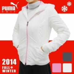 【2014年秋冬モデル】PUMA GOLF-プーマゴルフ- LADYS 903815(レディース) 中綿入りフルジップ長
