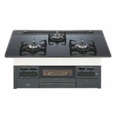 NORITZ N3WN7RWAS-LP ブラック fami(ファミ) [ビルトインガスコンロ(プロパン用・75cm)]