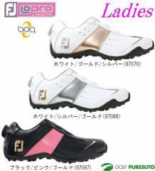 【レディース】フットジョイ ゴルフシューズ ロープロスポーツ スパイクレス ボア 970**[Foot joy LoPro Sport]【■Ac■】