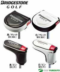 ブリヂストンゴルフ パターカバー PCG521 [BRIDGESTONE Golf]【■B■】