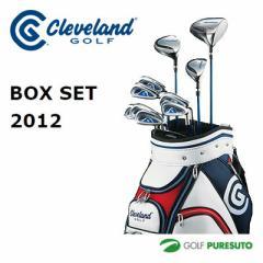 クリーブランド(Cleveland)ゴルフ 11本 セット クラブセット フルセット メンズ cg box set(1W,3W,U4,I#5-PW,SW,PT)キャディバッグ付き