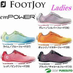 【レディース】フットジョイ ゴルフシューズ エンパワー 980** 日本正規品 スパイクレス[Foot joy  empower 女性用 ボア boa]【■Ac■】