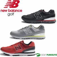 【即納!】【日本仕様】ニューバランス ゴルフシューズ MG574B カジュアル スパイクレス [New Balance Golf 靴]