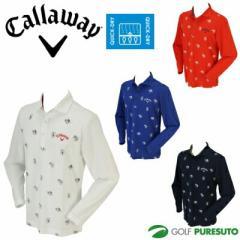 【即納!】キャロウェイ ホリゾンタルカラー長袖シャツ 241-6256500 [Callaway 2016年秋冬ウェア]