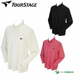【即納!】ツアーステージ ブライトジャガード長袖ボタンダウンシャツ ETM02F [ブリヂストン BRIDGESTONE TOUR STAGE 2016年秋冬ウェア]