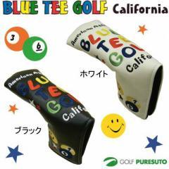 【即納!】ブルーティーゴルフ カルフォルニア スマイル&ピンボール パターカバー 【ピン型、ハーフマレット型対応】[BLUE TEE GOLF]