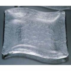 吉沼硝子 なびき 大皿 05-180 RNB0201