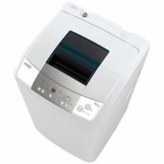 ハイアール 全自動洗濯機 6.0kg JW-K60M-W 風乾燥機能付(代引不可)【送料無料】