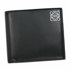 ロエベ LOEWE 二つ折り財布 小銭入 109.54.501 COIN WALLET BLACK BK【送料無料】