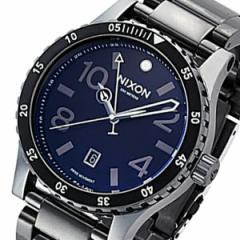 ニクソン NIXON ディプロマットSS クオーツ メンズ 腕時計 A2771885 ネイビー【送料無料】