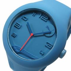 プーマ タイム PUMA フォーム XL クオーツ メンズ 腕時計 時計 PU103211001 ブルー