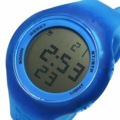 プーマ タイム PUMA ループ トランスペアレント 腕時計 時計 PU910801024 ブルー