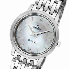 オメガ デ・ビル クオーツ レディース 腕時計 42410276005001 ホワイトパール【送料無料】【送料無料】