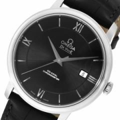 オメガ デ・ビル 自動巻き メンズ 腕時計 42413402001001 ブラック【送料無料】【送料無料】