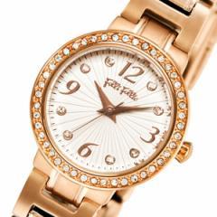 フォリフォリ クオーツ レディース 腕時計 WF2B015BSS ホワイト【送料無料】【送料無料】