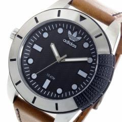 アディダス ADIDAS スーパースター クオーツ メンズ 腕時計 ADH3038 ブラック【送料無料】【送料無料】