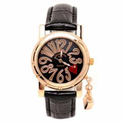時計 レディース ブランド 腕時計 pierretalamon (ピエールタラモン) 腕時計 レディース ウォッチ ジルコニアチャーム シェル文字盤 ブラ