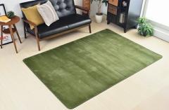 ラグ 長方形 滑り止め 洗える 北欧 マット カーペット シャギーラグ 絨毯 じゅうたん Moco 140×200cm Square type(代引不可)【送料無料