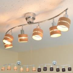 シーリングライト 6灯 スポットライト 照明 おしゃれ LED 北欧 間接照明 天井 ペンダントライト 和室 CC-SPOT-6【送料無料】