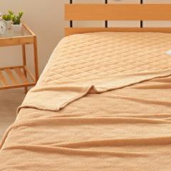 9色×3サイズから選べる!マイクロファイバー毛布・敷きパッドセット【Merka】メルカ【送料無料】