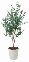 アートグリーン 人工観葉植物 光触媒 光の楽園 ユーカリ1.25(代引き不可)【送料無料】