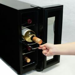 ベルソス ワインセラー 4本収納 ブラック VS-WC04【送料無料】