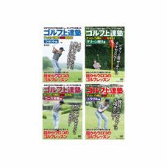 ゴルフ上達塾シリーズDVD全4巻