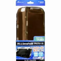 アンサー Wii U GamePad用「TPUフレーム」(クリアブラック) ANS-WU006BK (代引不可)