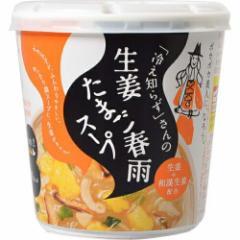 永谷園 「冷え知らず」さんの生姜たまご春雨スープ 27.2g×6個
