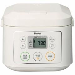ハイアール 3合炊きマイコンジャー炊飯器 JJ-M30C-W(代引不可)【送料無料】