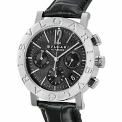 ブルガリ BVLGARI ブルガリブルガリ クロノ オートマチック メンズ 腕時計 BB38BSLDCH ブラック【送料無料】【楽ギフ_包装】