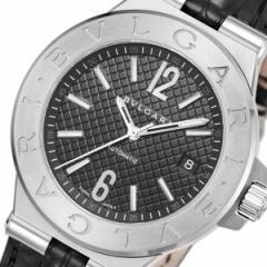 ブルガリ BVLGARI ディアゴノ 自動巻き メンズ 腕時計 DG40BSLD ブラック【送料無料】【楽ギフ_包装】
