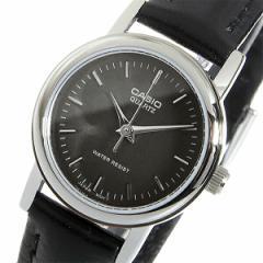 カシオ CASIO クオーツ レディース 腕時計 時計 LTP-1095E-1A ブラック【楽ギフ_包装】