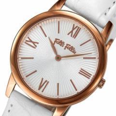 フォリフォリ クオーツ レディース 腕時計 時計 WF15R032SPW-WH シルバー【楽ギフ_包装】