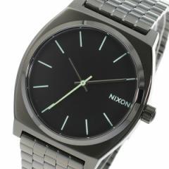 ニクソン NIXON タイムテラー クオーツ メンズ 腕時計 時計 A045-1885 ブラック【楽ギフ_包装】