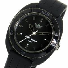 アディダス スタンスミス クオーツ レディース 腕時計 時計 ADH3125 ブラック/ブラック【楽ギフ_包装】