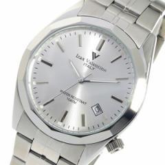 アイザック バレンチノ クオーツ メンズ 腕時計 時計 IVG-560-2 シルバー【楽ギフ_包装】