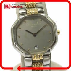 あす着 Christian Dior クリスチャンディオール レディース腕時計 シルバーxゴールド ウォッチ