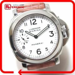 あす着 PANERAI パネライ PAM00113 ルミノール マリーナ 腕時計 ウォッチ 革ベルト メンズ